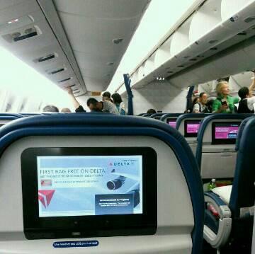 搭乗しました